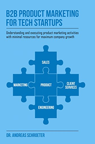 B2B Product Marketing For Tech Startups: Understanding and executing product marketing activities with minimal resources for maximum company growth (English Edition)