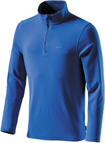 Forro polar de manga corta para hombre etirel Cortina, color  - azul, tamaño XXL