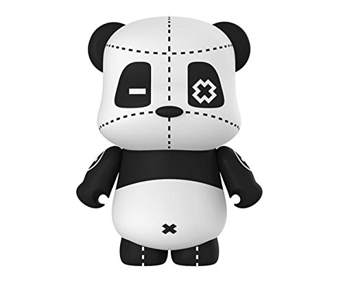 ebai Patch Panda Series Portable Bear Device 5000 mAh, High-Speed Charging, Portable Phone Charger for iPhone, Samsung Galaxy and More (Black/White)