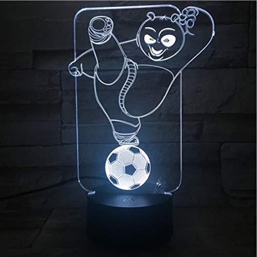 Los mejores niños llevó la luz de la noche del fútbol, la cama del niño, el escritorio operado, la noche, la noche, la decoración de la mesita de noche