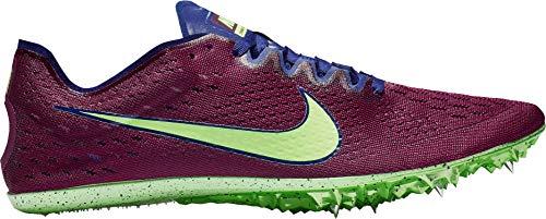 Nike Zoom Victory Elite 2, Zapatillas de Atletismo Unisex Adulto, Multicolor (Regency Purple/Lime Blast/Bordeaux 500), 44 EU