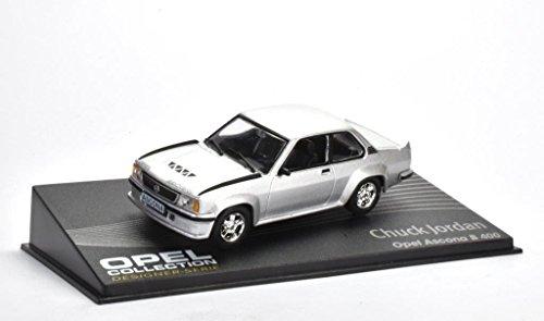 Opel Ascona B 400 Fertigmodell in Displayvitrine Maßstab 1:43