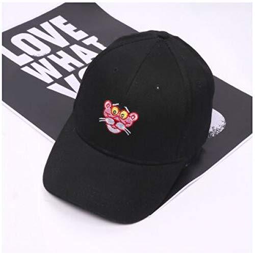N/A Baseball Kappe Pink Panther Baseball Cap Hysteresenhut Mütze für Männer Frauen Papa Hut Hip Hop Hut Knochen verstellbar