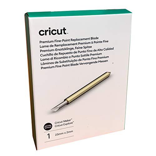 Cricut 2007300 Spitze Premium-Ersatzklinge, feine, One Size