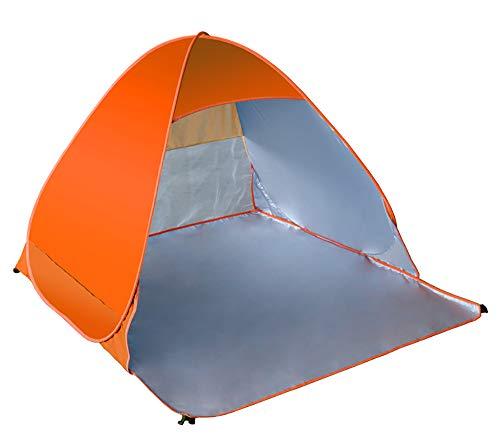LEJZH Beach Tent Lichtgewicht Strand Paraplu Outdoor Sun Shelter Canopy Cabana Makkelijk Set Up 2 Persoon, Waterdicht/Winddicht UV Lichtgewicht en gemakkelijk te dragen