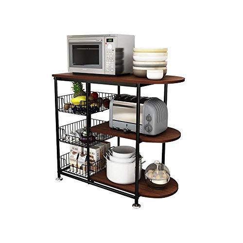 QAZWSX magnetronkast – keukenrek – keukenrek – groenteschaaf – multifunctionele keuken