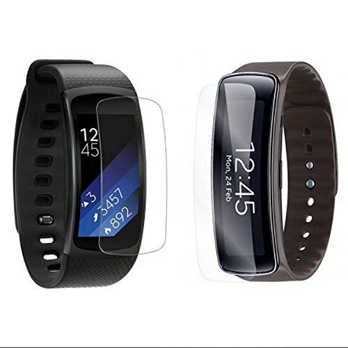 MAXKU Samsung Gear Fit2 Pro/Gear Fit 2 Pro Schutzfolie Bildschirmschutzfolie, [3 Stück] HD Transparent Bildschirmschutz Weich Folie Screen Protector Für Samsung Gear Fit2 Pro/Gear Fit 2 Pro