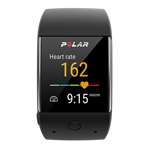 Polar M600 (Black) GPS Sports Smart Watch with Wrist-Based Heart Rate Bundle with PlayBetter USB Car...