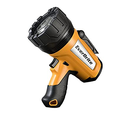 EverBrite LED Spotlight 1000 Lumens Dimmable Ultra-bright Li-Ion Rechargeable Outdoor Flashlight