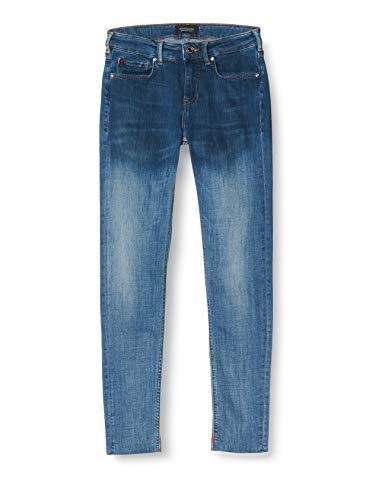 Scotch & Soda La Bohemienne Cropped-Wash It Away Jeans voor dames