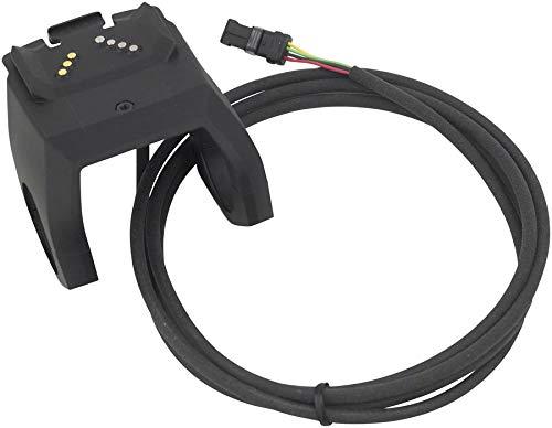 Bosch Displayhalter, für Intuvia Nyon, 1500 mm, INKL. Kabel zur Antriebseinheit und 3 x 4 Distanzgummis (31, 8 mm, 25, 4 mm, 22, 2mm) Soporte, Unisex Adulto, Negro, Talla única