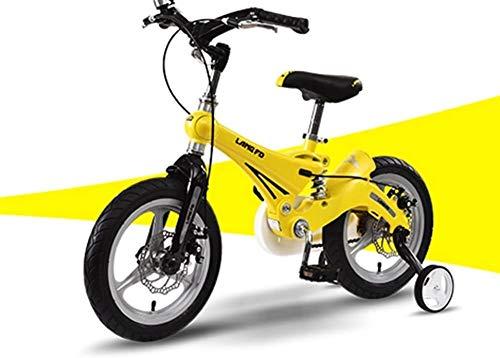 TQJ Cochecito de Bebe Ligero Bicicleta for niños Conveniente 12/14/16 Pulgadas Cochecito de bebé 3-6 años de Edad Montaña Bicicleta Bicicleta Bicicleta Bicicleta Bicicleta cómoda
