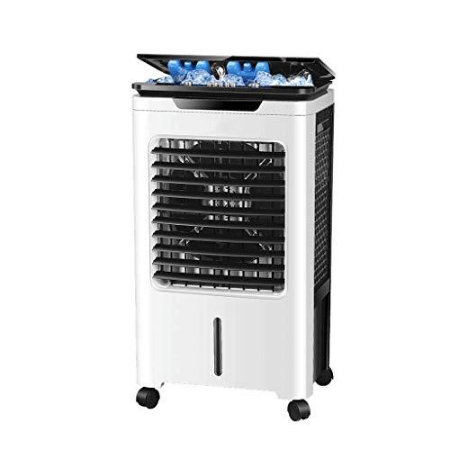 XPfj Aire Acondicionado Refrigeración Hogar Pequeño Acondicionador de Aire Solo Tipo frío Mini refrigerador de Aire Enfriadores evaporativos