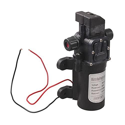Alta calidad DC 12V 60W Micro Diafragma Micro Diafragma Bomba de agua Interruptor automático 5L / Min Bomba de agua de lavado de automóviles de alta presión para Caravana RV Barco Marina Agrícola