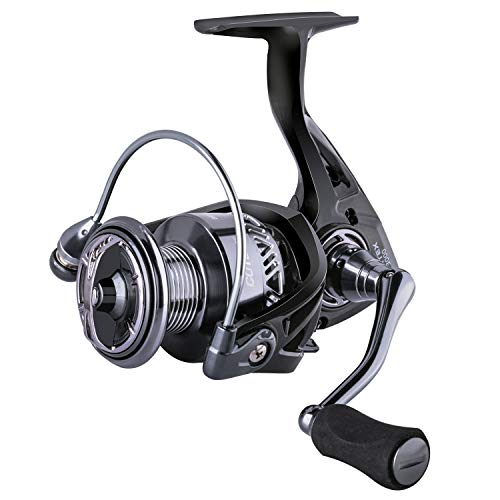 Goture Fishing Spinning Reel Saltwater Freshwater Ultralight Spinning reels deep sea high Speed Reel bass Trout Crappie 9+1 BB Smooth Powerful Lightweight CNC Spool 2000 3000 4000