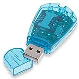 OcioDual Lector de Tarjetas Telefónicas SIM USB 2.0