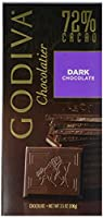 GODIVA 72% Cacao Dark Chocolate ゴディバ 2%カカオダークチョコレート100 g [海外直送品]