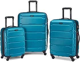 Samsonite Omni PC Hardside Expandable Luggage with Spinner Wheels, Caribbean Blue, One Size