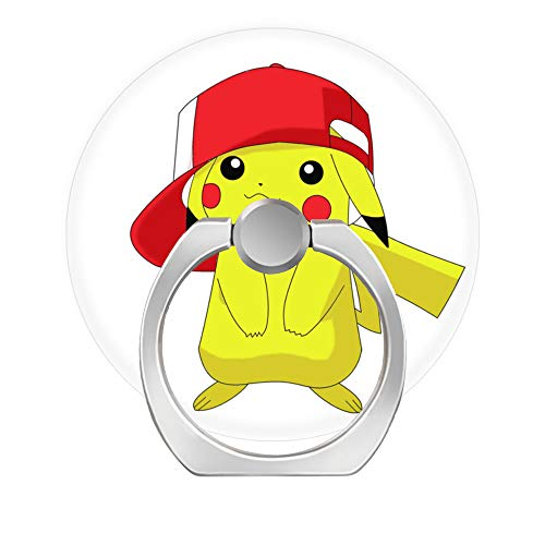 Universal Phone Grip Holder, Expanding Grip Socket for Cellphones,Rotation Pop Grip Holder for Phones, iPad and Tablet-Pikachu