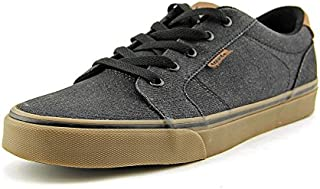 Vans Men's Bishop Textile Ankle-High Canvas Fashion Sneaker