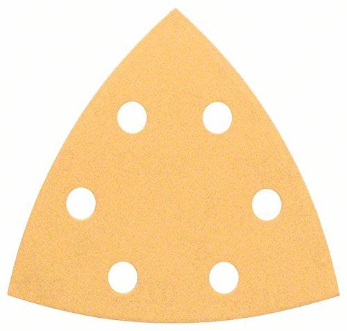Bosch Professional Schleifblätter für Dreieckschleifer Holz und Farbe (50 Stück, 93 mm, Körnung 120, C470)