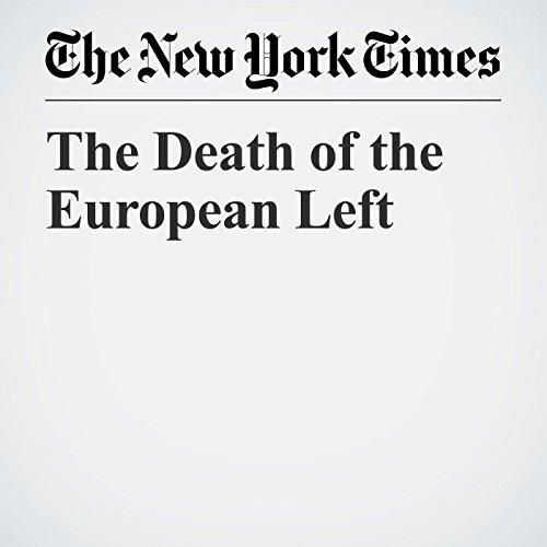 The Death of the European Left copertina