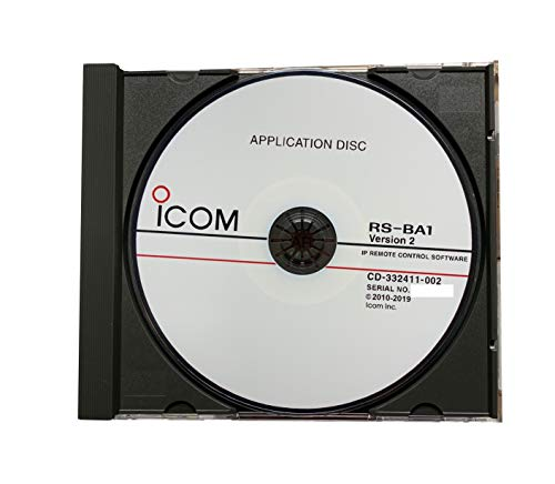 Icom RS-BA1 Version 2 IP Remote Control Software for Icom IC-7851, IC-7850, IC-7610, IC-7300, IC-7200, IC-7100, IC-9700