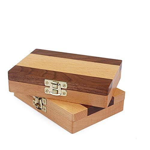 Baby Zahn Box, Holz Kids Keepsake Organizer Geschenk für Baby Zähne, Baby Zähne Save Box für Kinder Jungen und Mädchen, die Erinnerung an die Kindheit zu halten (Color : A)