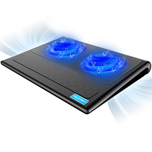 TECKNET Laptop Cooling Pad, Portable Ultra-Slim...