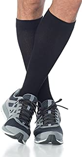 SIGVARIS Men's Cushioned Cotton 182 Calf High Compression Socks 15-20mmHg
