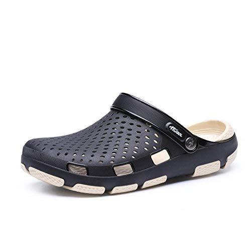comodi sandali da esterno Zoccolo,Zoccoli per uomo all'aperto Scarpe,scarpe da pesca/pulizia della casa Ciabatte,sandali da spiaggia,scarpe da giardino,scarpe da lavoro in cucina,scivoli per bagno/d