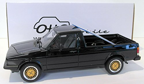 VW Caddy, schwarz, 0, Modellauto, Fertigmodell, Ottomobile 1:18