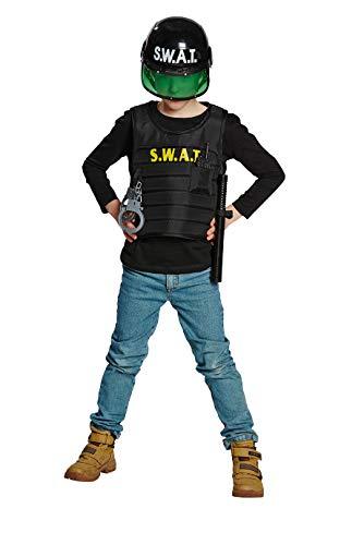 Mottoland Kinder Kostüm SWAT Junge Spezialeinheit Fasching Karneval Verkleiden: Größe: 164