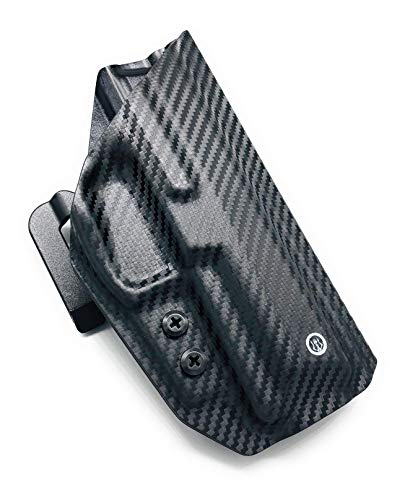 Neptune Concealment OWB Kydex Holster for CZ 75D PCR Compact - Hermes Series w/ Speed Clips - Veteran Made USA