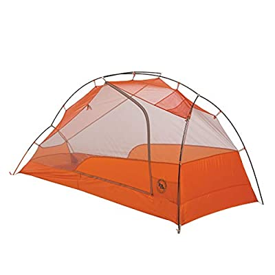 Big Agnes 2019 Copper Spur HV UL1 Backpacking Tent, Gray/Orange, 1 Person