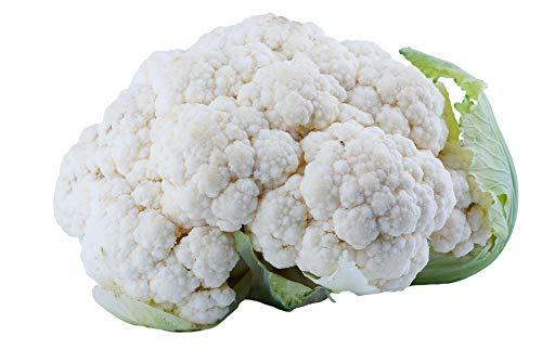 Semi di broccoli (biologici) -Semi di cavolfiore bianco verde calabrese, palla di neve deliziosa e sana (bianca)