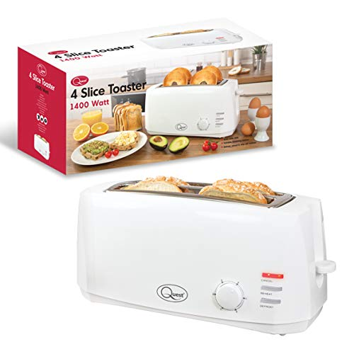 Quest 35049 4-Slice Toaster