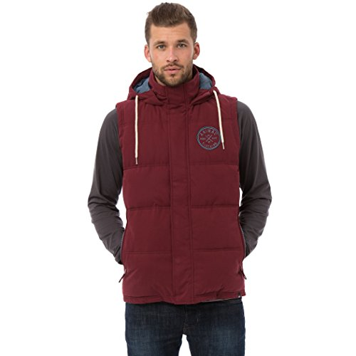 Animal Mens Wyley Gilet Red