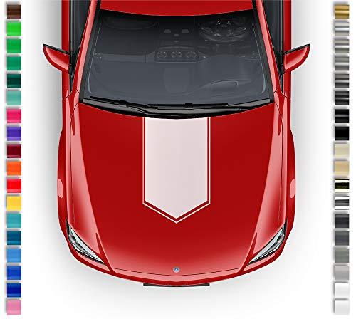 Auto-Dress® sticker motorkap folie universeel 50 cm x 85 cm 111 m zwart mat.