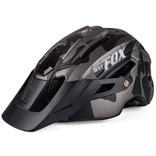 Cool Mountain Bicycle Helmet Casco de Camuflaje MTB Road Bike Riding Helmet...