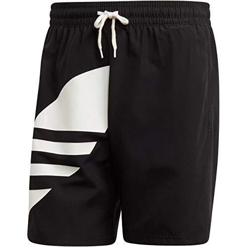 adidas Herren Big Trefoil Badeshorts, Black, L