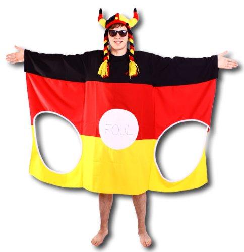 MP Torwandkostüm Verkleidung Junggesellenabschied Deutschland Outfit