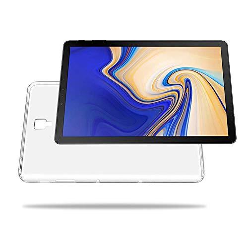 NUPO Samsung Galaxy Tab S4 10.5 SM-T830 (Wi-Fi)/SM-T835 (LTE) ケース 耐衝撃 クリア 半透明 TPU シリコン Galaxy Tab S4 10.5 専用カバー (半透明)