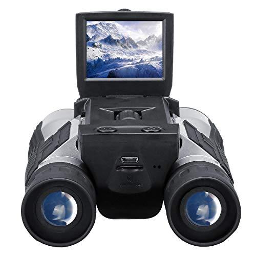 Raitron 12x32 Verrekijker Digitale Telescoop 1080P Camera Video Opname Foto Shooting Outdoor Camping