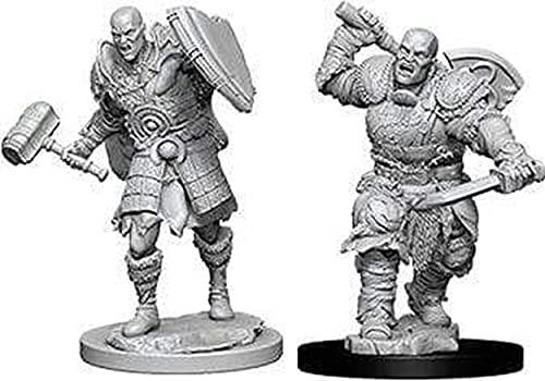 NECA D&D Nolzurs Marvelous Unpainted Miniatures: Wave 7: Male Goliath Fighter