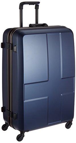 [イノベーター] スーツケース 大型 カードキー 消音キャスター INV68 保証付 90L 76 cm 4.8kg ディープブルー