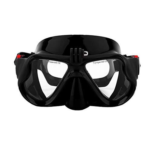 MHSHKS Pieno Volto Maschera Immersioni Maschera da Sub con Telecamera Staccabile, Occhialini da Nuoto Antiappannamento per Lo Snorkeling per Adulti/Bambini (Color : 3#)