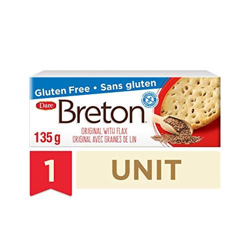 DARE BRETON Original Crackers with Flax, 4.76 OZ