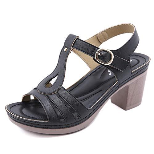 Zapatos para Mujer-Sandalias de Tacon Alto de Aguja-Elegantes-Novia-Boda-Nupcial-Vestido de Fiesta-Punta Abierta-Correa de Tobillo-Plataforma