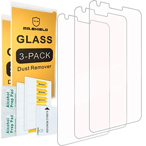 [3-Pack]-Mr.Shield for LG G6 Duo/LG G6 [Tempered Glass] Screen Protector with Lifetime Replacement